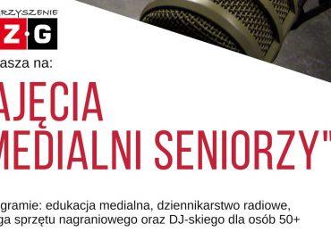 """Zajęcia """"Medialni seniorzy"""""""