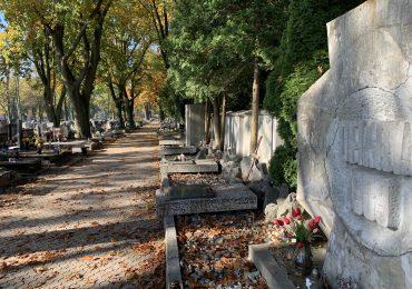 Spacer po cmentarzu rzymsko-katolickim