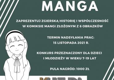 Konkurs rysowniczy Zgierska Manga